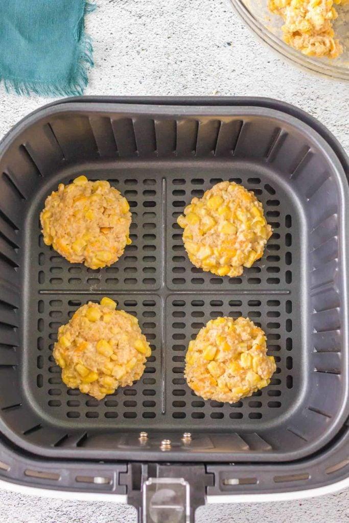 Air Fryer Corn Fritters