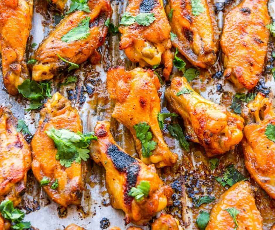 Air Fryer Chipotle-Lime Sticky Wings