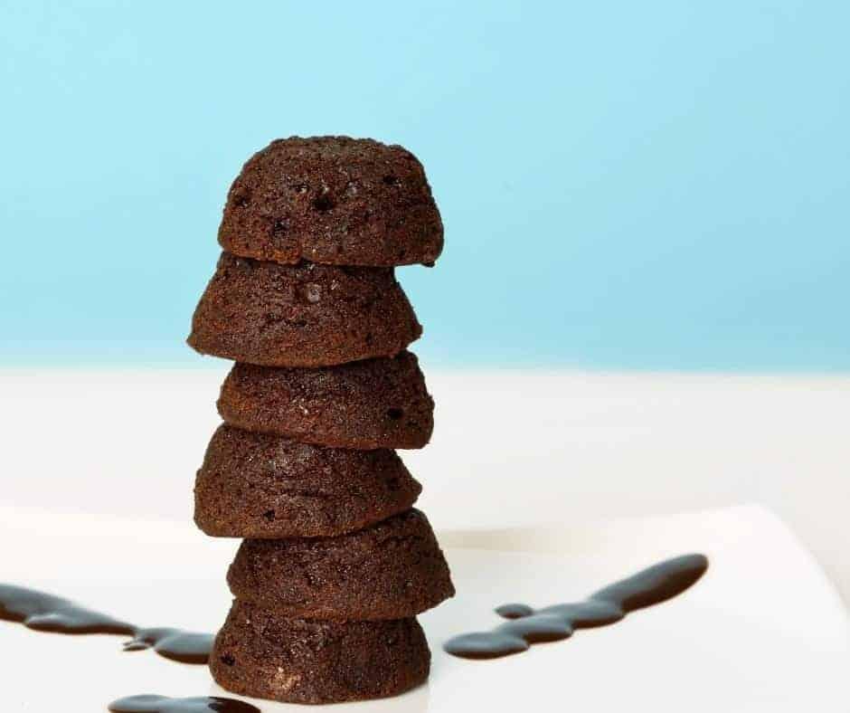 Air Fryer Brownie Bites