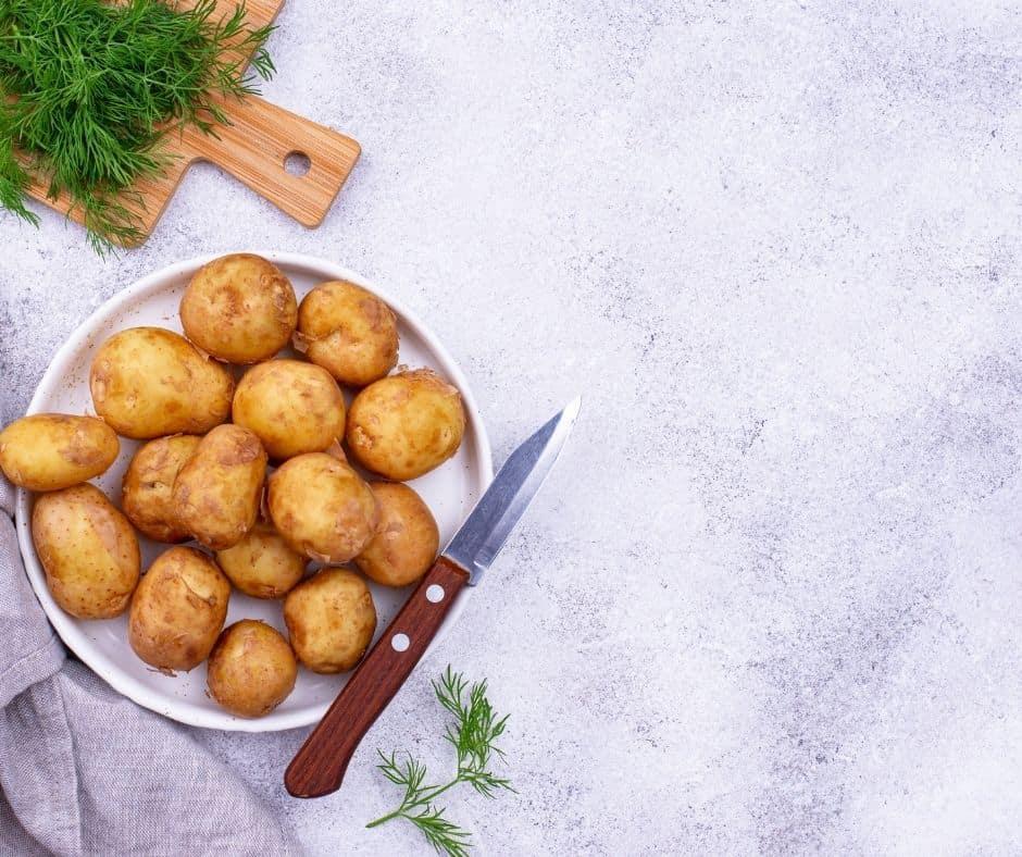Ingredients For Air Fryer Baby Potatoes