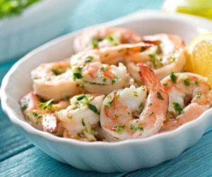 Air Fryer Garlic Herb Shrimp