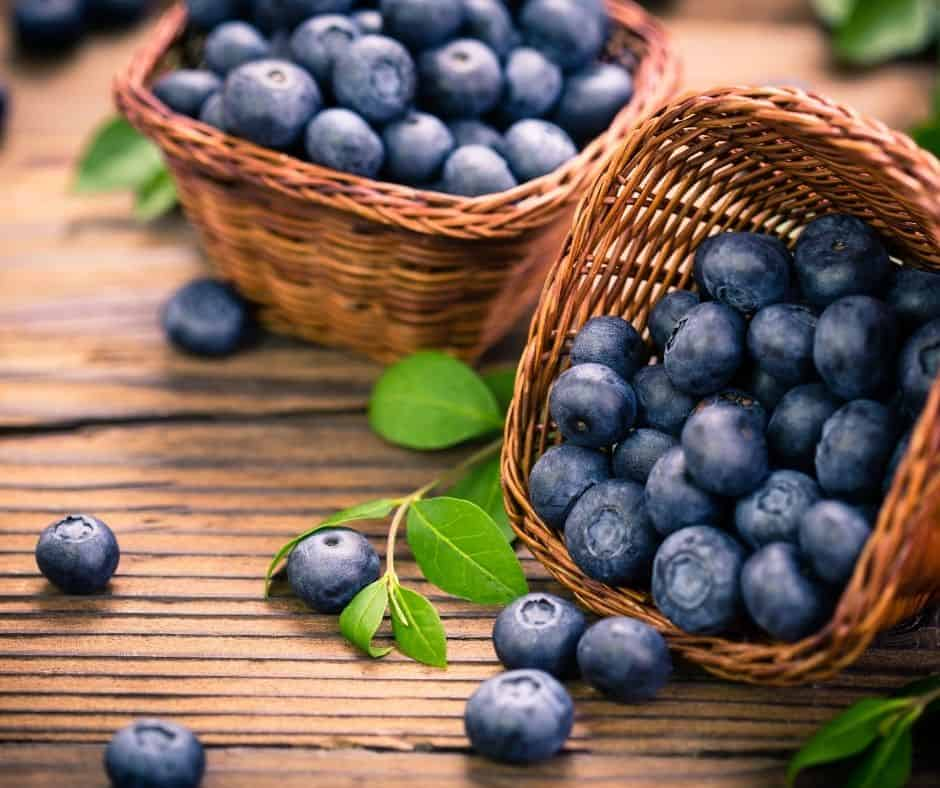 Ingredients Needed For Air Fryer Blueberry Pastry