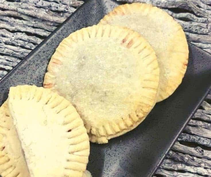 Air Fryer Raspberry Hand Pies