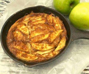 Air Fryer German Apple Pancakes