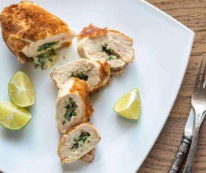 Air Fryer Chicken Kiev