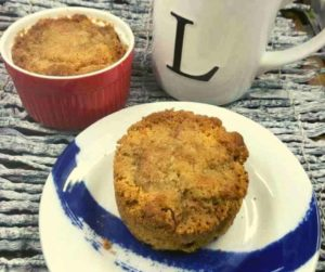 Air Fryer Homemade Apple Muffins For Two