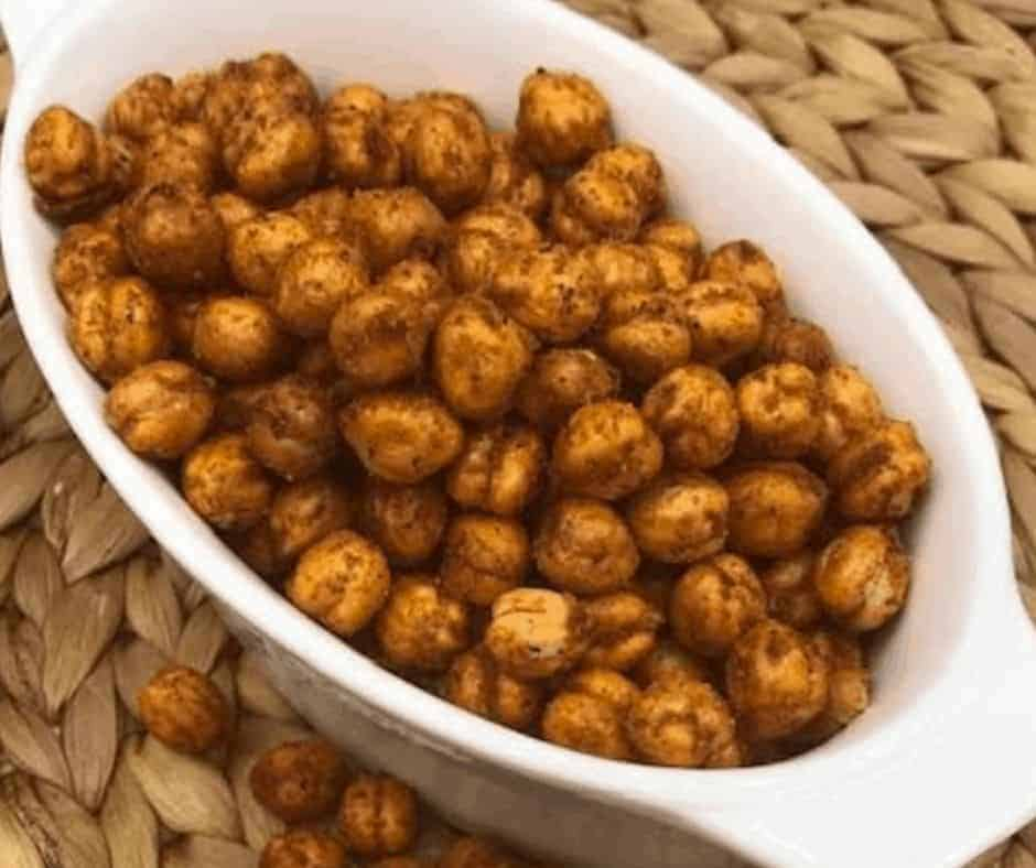 Air Fryer Bombay Spice Roasted Chickpeas