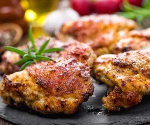 Air Fryer Ranch Chicken Thighs