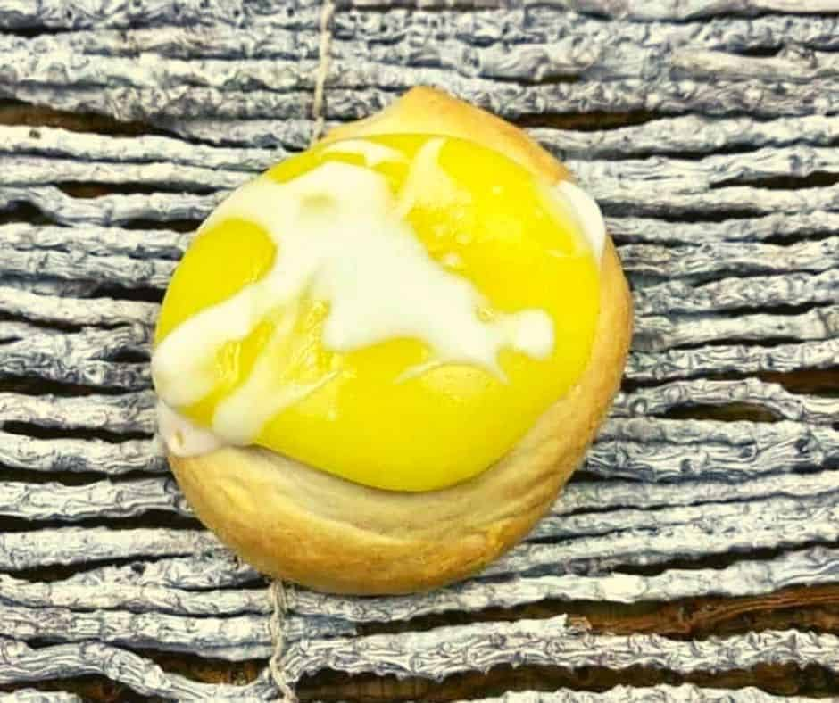 Air Fryer Crescent Lemon Danish