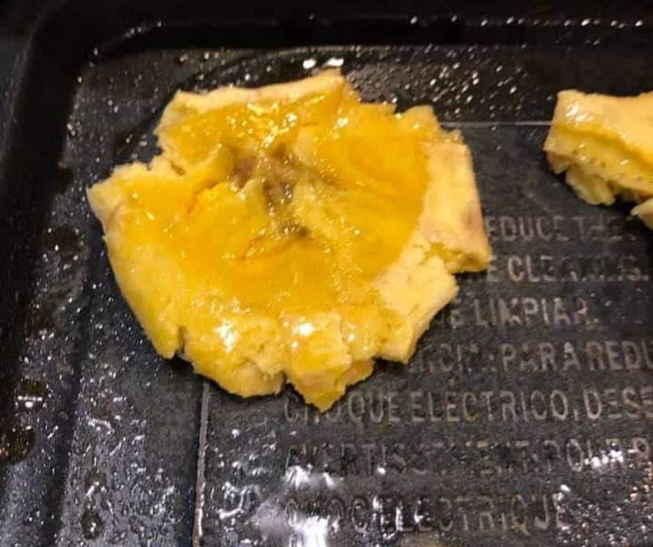 Smashed Tostones Back on Tray