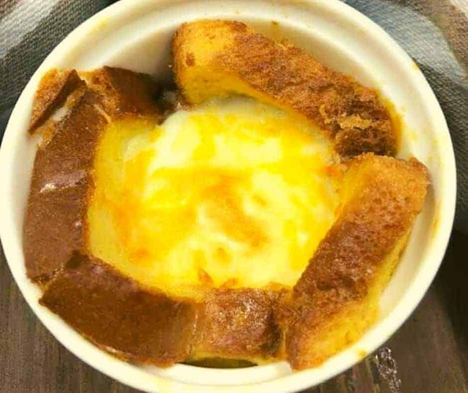 Air Fryer Egg & Toast Cups