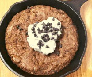 Air Fryer Skillet Brownies