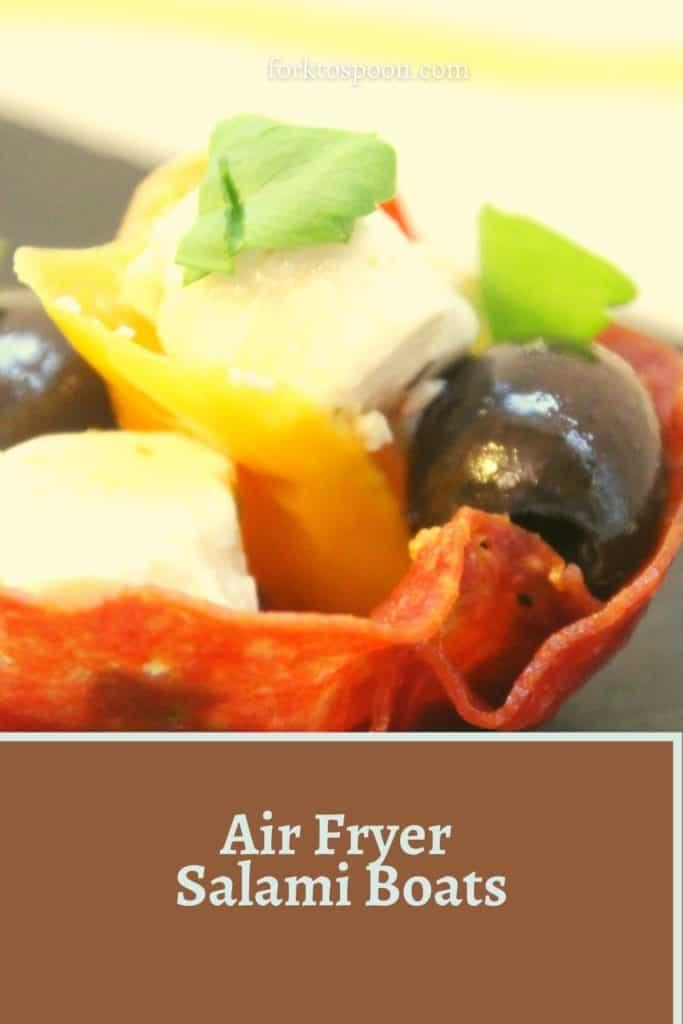 Air Fryer Salami Boats