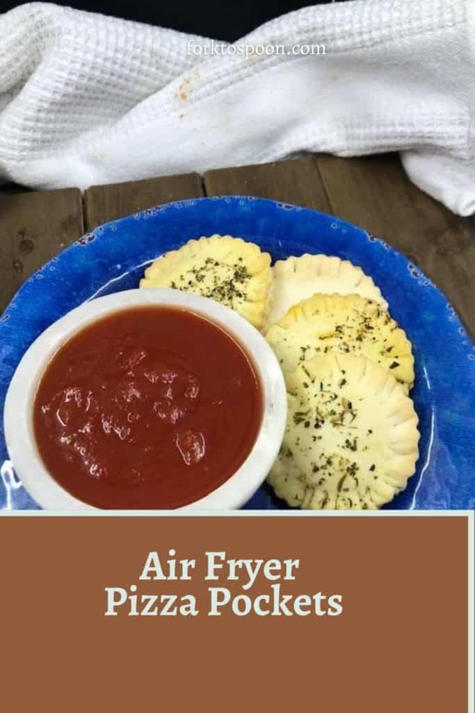 Air Fryer Pizza Pockets