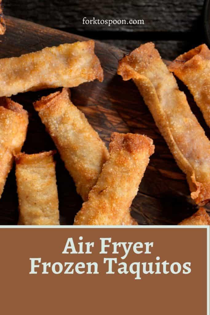 Air Fryer Frozen Taquitos