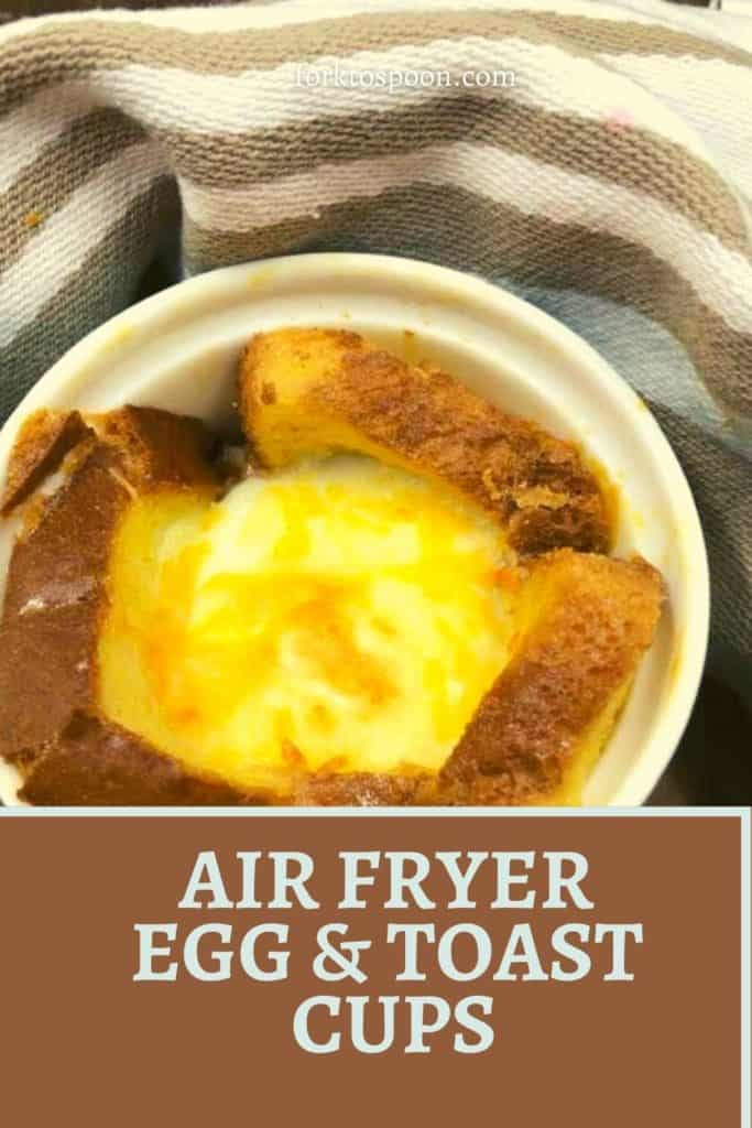 AIR FRYER, EGG AND TOAST CUPS