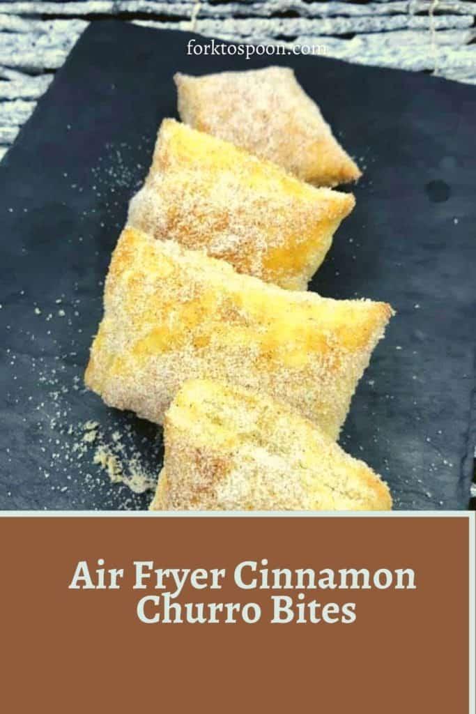 Air Fryer Cinnamon Churro Bites