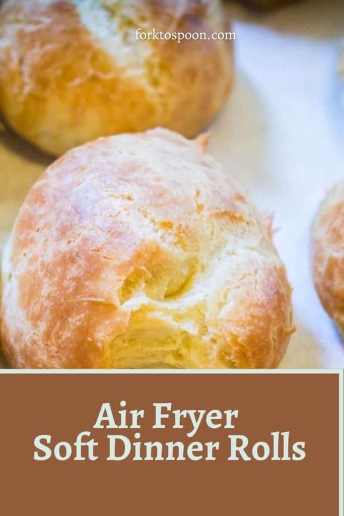 Air Fryer Soft Dinner Rolls