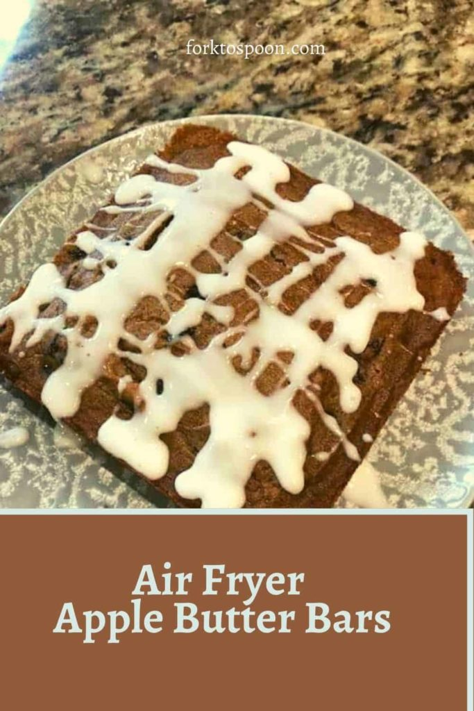 Air Fryer Apple Butter Bars