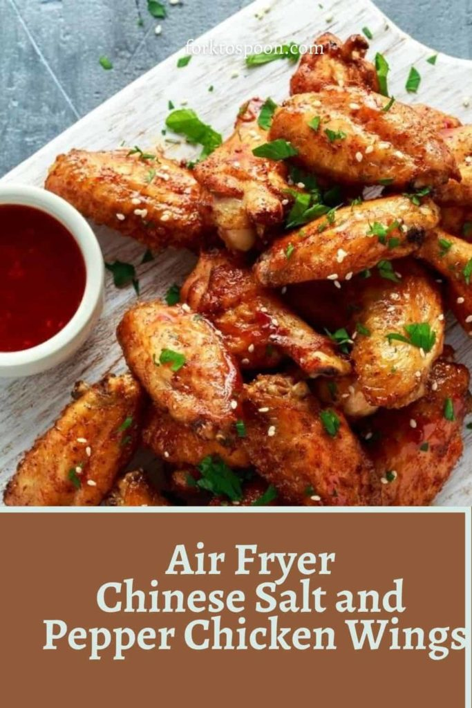 Air Fryer Chinese Salt and Pepper Chicken Wings