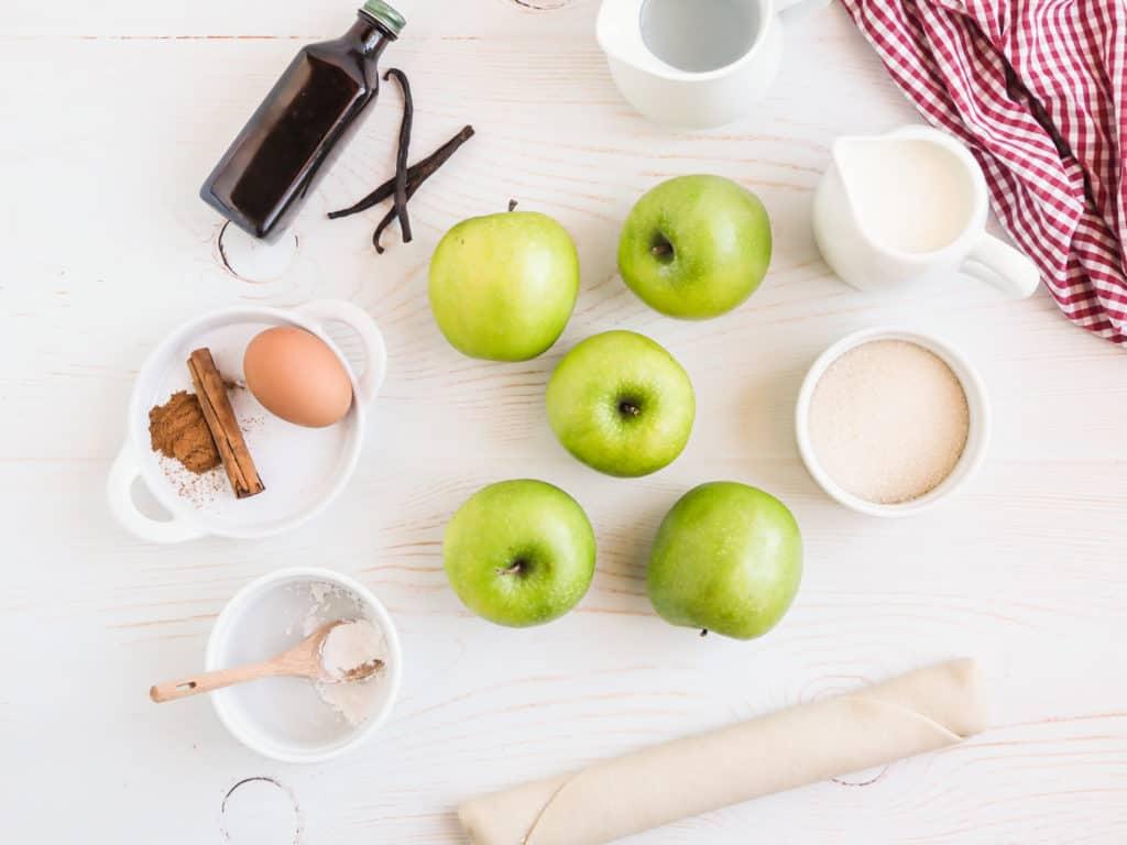 Ingredients For Apple Pie Baked Apples