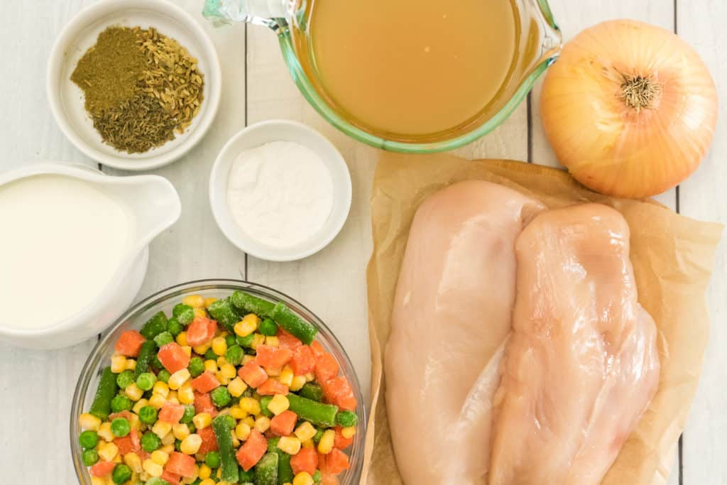 Ingredients Needed For Instant Pot Chicken Pot Pie Soup
