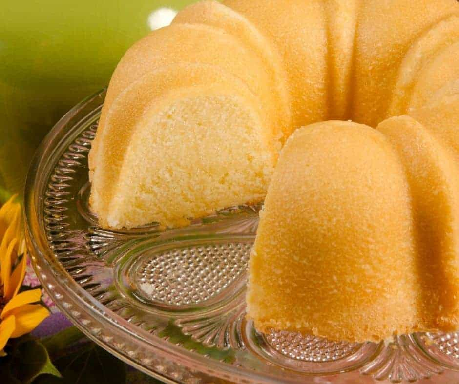 Air Fryer Southern Classic Pound Cake