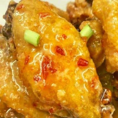 Air Fryer Red-Pepper Jelly Wings