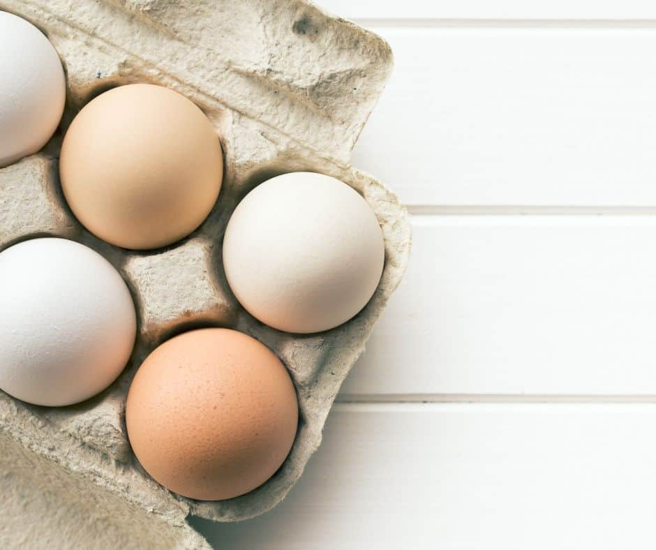 Ingredients Needed For Baked Eggs in the Air Fryer