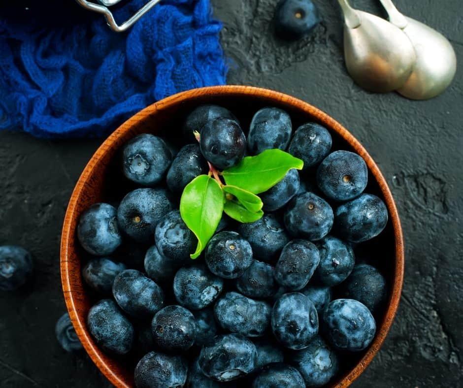 Ingredients Needed For Air Fryer Blueberry Crisp