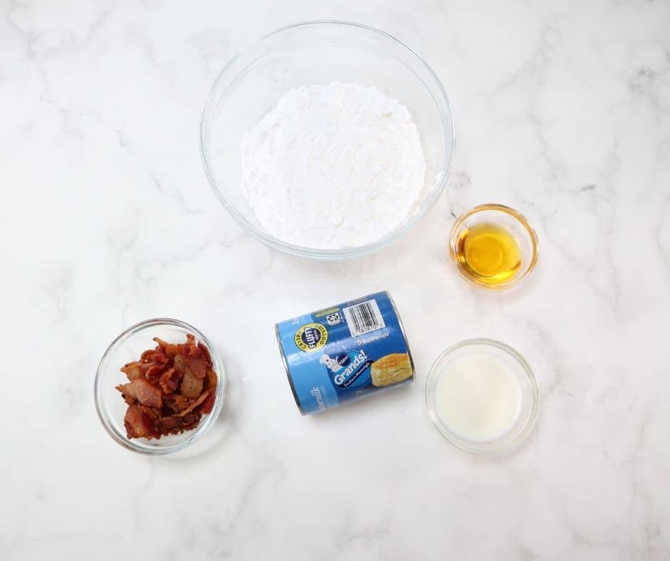 Ingredients In Air Fryer Bacon Salted Caramel Donuts