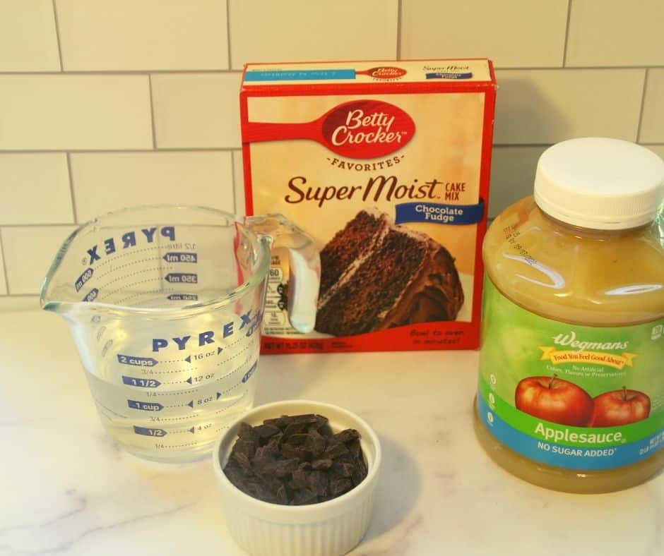 Ingredients In Air Fryer Chocolate Cake Mix Mug Cake
