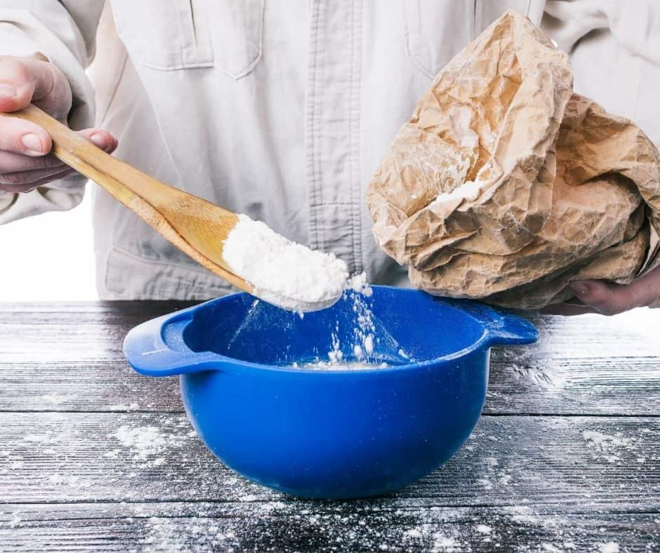 Ingredients Needed For Air Fryer Blueberry Pancake Bake