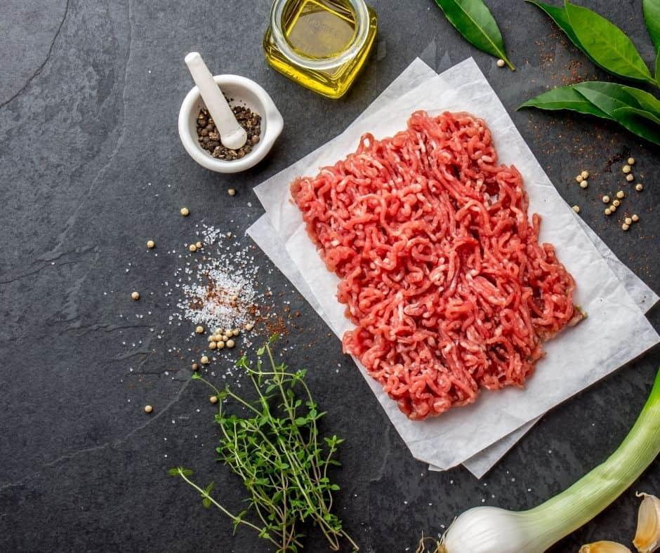 Ingredients Needed For Air Fryer Cheeseburger Egg Rolls