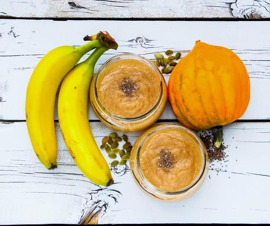 Ingredients Needed For Air Fryer Gluten-Free Pumpkin Banana Nut Bread