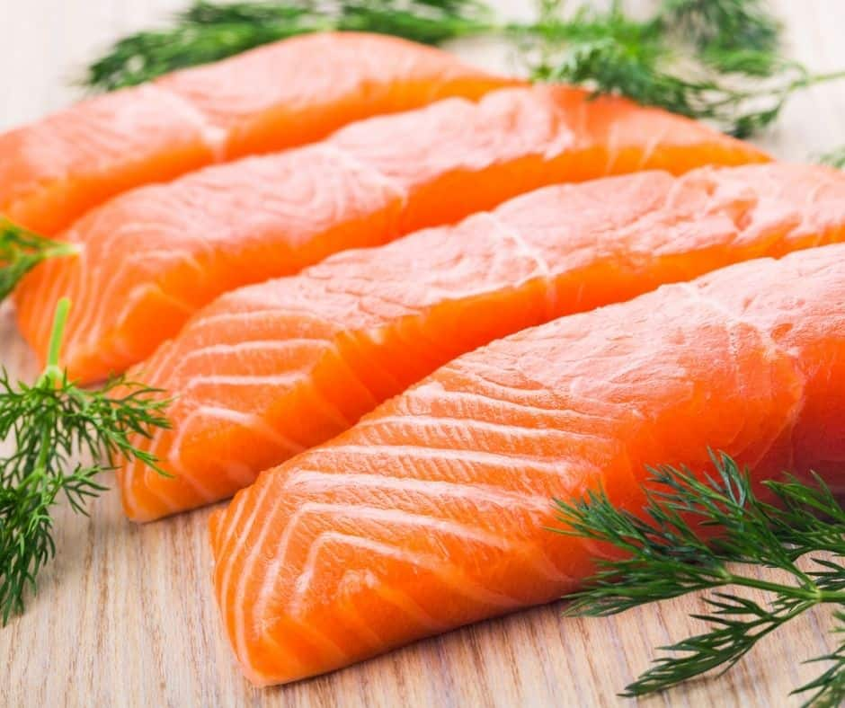 Ingredients Needed For Air Fryer Salmon With Mushroom Sauce