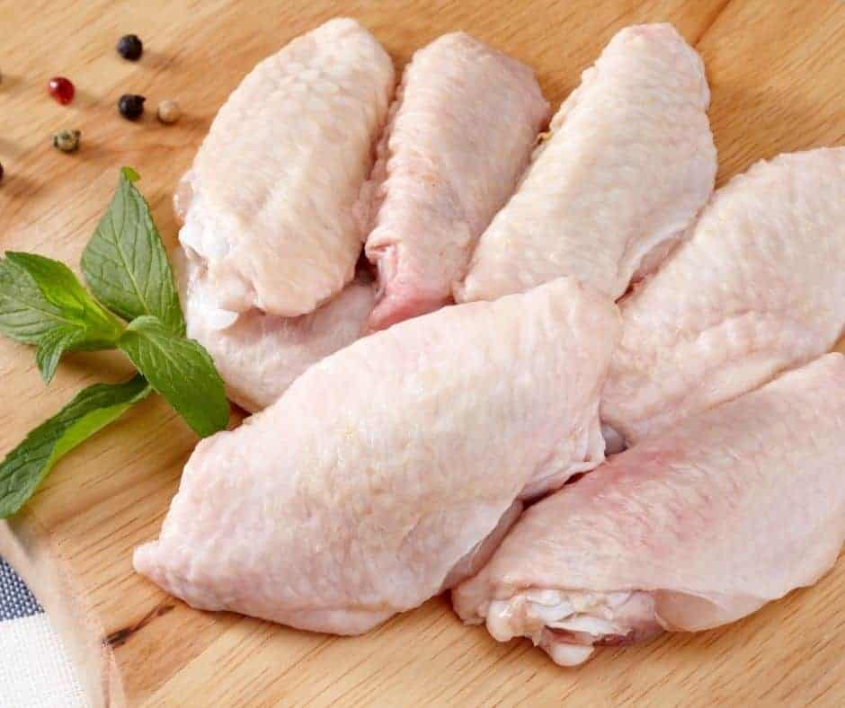 Ingredients Needed For Air Fryer Chinese Salt and Pepper Chicken Wings