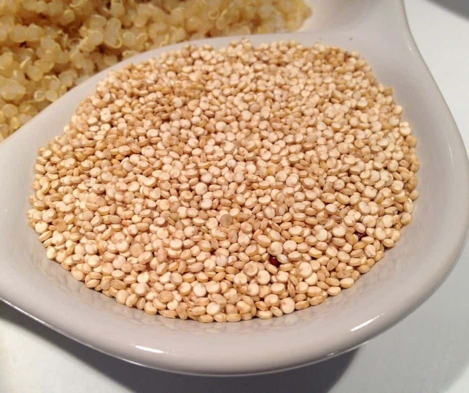 Ingredients Needed For Instant Pot Vegetarian Quinoa Fried Rice