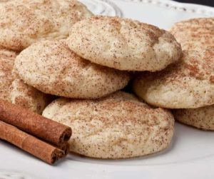 Air Fryer Homemade Snickerdoodle Cookies