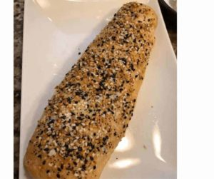 Air Fryer Everything French Bread
