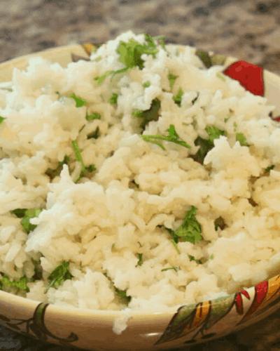 Instant Pot Cilantro Lime White Rice