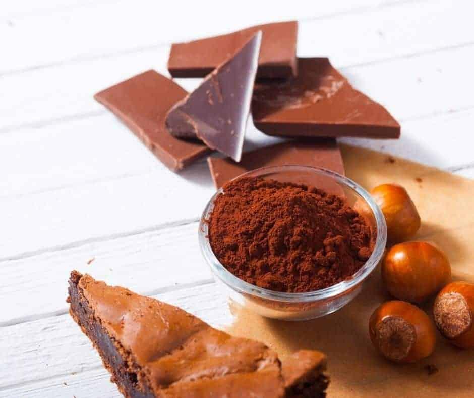 Ingredients For Air Fryer Chocolate Chip Brownies