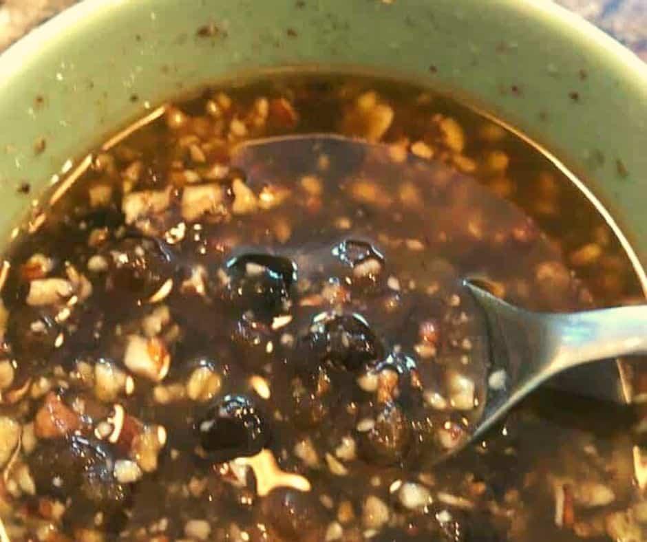 Pecan Mixture In Bowl