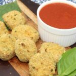 Air Fryer Fried Goat Cheese