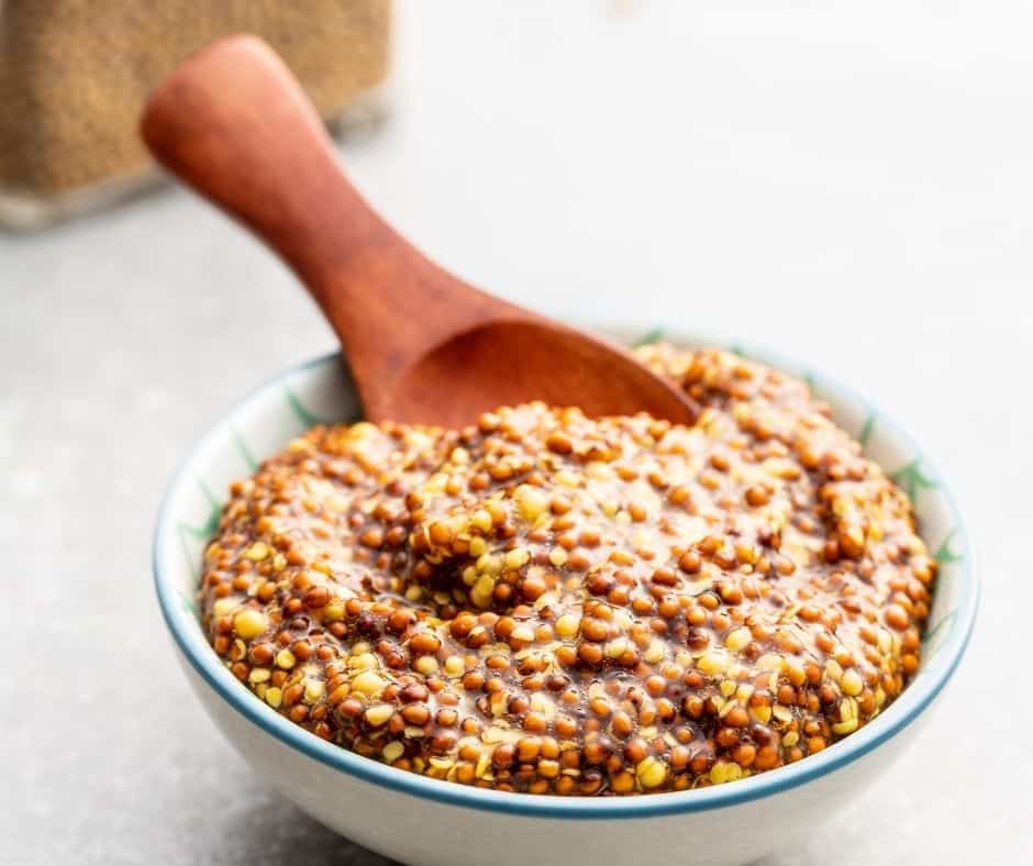 Whole Grain Mixture in Bowl