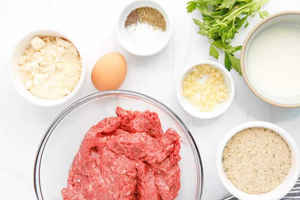 Ingredients In Air Fryer Beef Meatballs