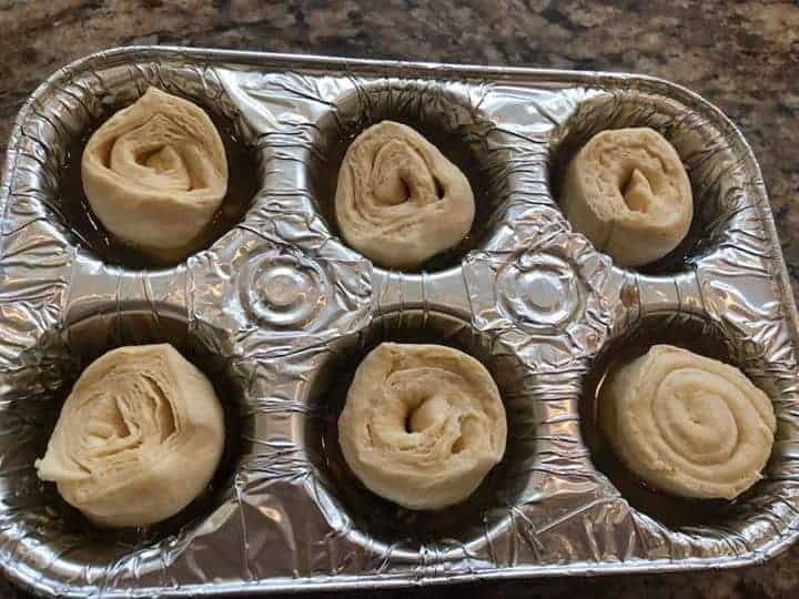 Crescent Dough in Muffin Tin