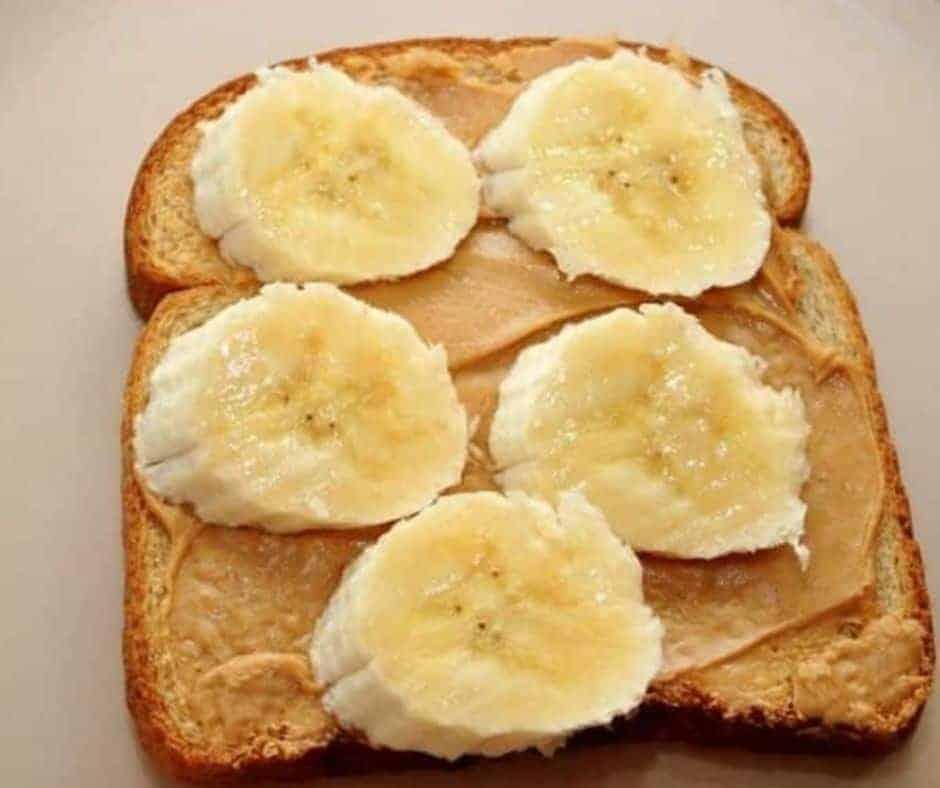 Air Fryer Peanut Butter Banana Toast