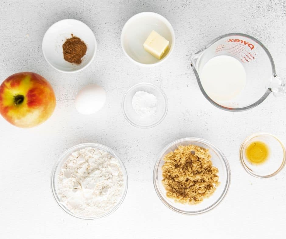 Ingredients Needed For Air Fryer Apple Fritters
