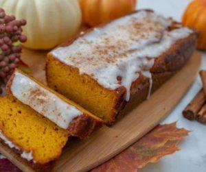 Air Fryer Homemade Pumpkin Bread